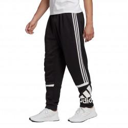 Adidas Essentials Logo Colorblock CP Férfi Nadrág (Fekete-Fehér) GK8903
