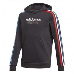 Adidas Originals Adicolor Hoodie Gyerek Melegítő Pulóver (Fekete) GN7496