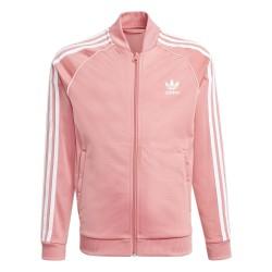 Adidas Originals Adicolor SST Track Lány Pulóver (Rózsaszín-Fehér) GN8450