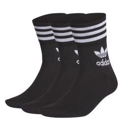 Adidas Originals Mid Cut Crew Sock Uniszex Zokni (Fekete-Fehér) GD3576
