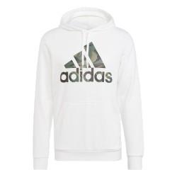 Adidas Essential Camouflage Hoodie Férfi Pulóver (Fehér) GL0018