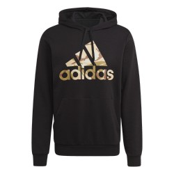 Adidas Essential Camouflage Hoodie Férfi Pulóver (Fekete) GL0019