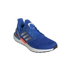Adidas UltraBoost 20 Férfi Futó cipő (Kék-Fehér) FX7978