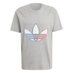 Adidas Originals Tricolor Tee Férfi Póló (Szürke) GQ8917
