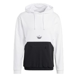 Adidas Originals Sport Hoodie Férfi Pulóver (Fekete-Fehér) GN2451