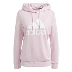 Adidas Essential Relaxed Hoodei Női Pulóver (Rózsaszín-Fehér) GM5619