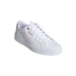 Adidas Originals Sleek Női Cipő (Fehér-Piros) FZ1829