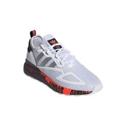 Adidas Originals ZX 2K Boost Férfi Cipő (Fehér-Fekete-Narancssárga) FX7030