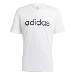 Adidas Essential Linear Tee Férfi Póló (Fehér-Fekete) GL0058