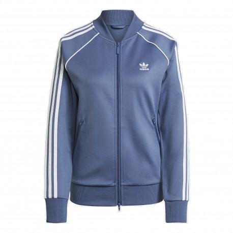 Adidas Originals Primeblue SST Track Női Pulóver (Kék-Fehér) GN2939