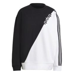 Adidas Originals Sweatshirt Női Pulóver (Fekete-Fehér) H38868