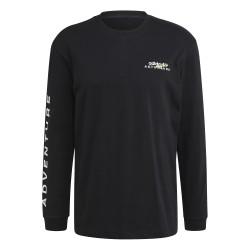 Adidas Originals Adventure Hoodie Férfi Pulóver (Fekete-Fehér) GN2373