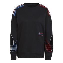 Adidas Originals Adicolor Sweatshirt Női Pulóver (Fekete) GN2822