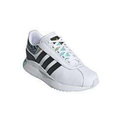 Adidas Originals Sleek Andridge Női Cipő (Fehér-Fekete-Zöld) FY3658