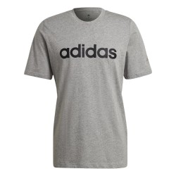 Adidas Essentials Linear Sj Tee Férfi Póló (Szürke-Fekete) GL0060