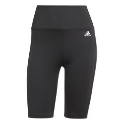 Adidas 3 Stripes Short Tights Női Training Nadrág (Fekete-Fehér) GL3971