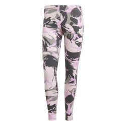 Adidas Essential Camouflage 7/8 Leggings Női Nadrág (Fekete-Rózsaszín-Szürke) GM8740