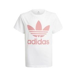 Adidas Originals Trefoil Tee Kislány Gyerek Póló (Fehér-Rózsaszín) GN8213