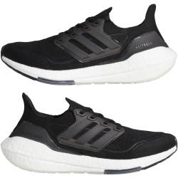 Adidas Ultraboost 21 Női Cipő (Fekete-Fehér) FY0402