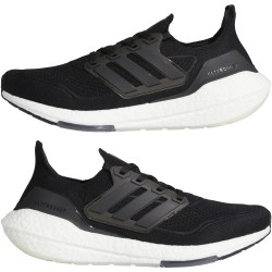 Adidas Ultraboost 21 Férfi Cipő (Fekete-Fehér) FY0378