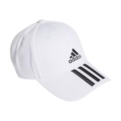 Adidas 3Stripes Baseball Sapka (Fehér-Fekete) FQ5411