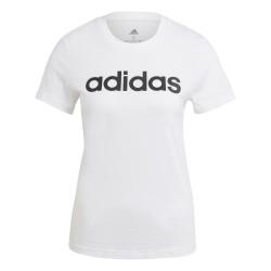 Adidas LOUNGEWEAR Essentials Slim Logo Női Póló (Fehér) GL0768