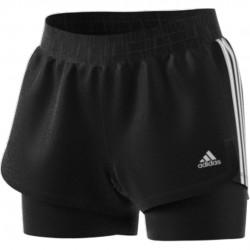 Adidas Pacer 3 Stripes 2in1 Női Short (Fekete) GL7686