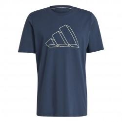 Adidas Sportswear Graphic Férfi Póló (Kék) GM6365