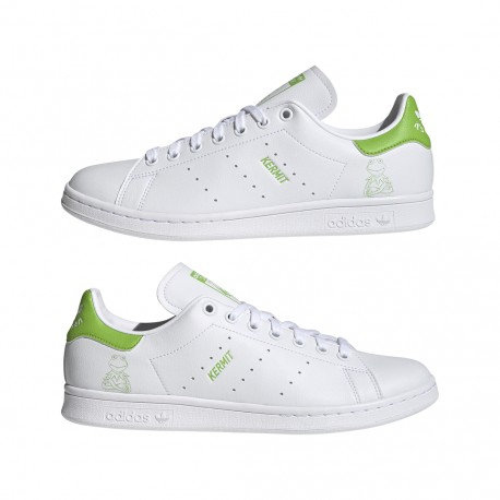 Adidas Originals x Disney Stan Smith Kermit (Fehér-Zöld) FX5550