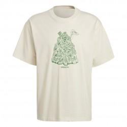 Adidas Originals Stan Smith Férfi Póló (Fehér-Zöld) GQ8872