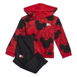 Adidas Mickey Mouse Bébi Melegítő Együttes (Piros-Fekete) GM6936