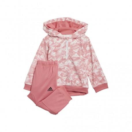 Adidas BoS Allover Print Bébi Melegítő Együttes (Rózsaszín) GM8963