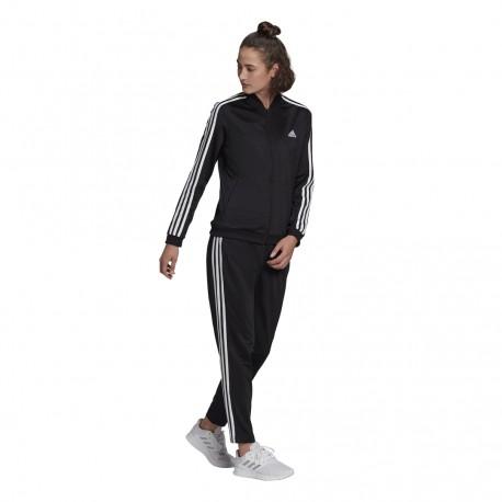Adidas 3 Stripes Női Melegítő Együttes (Fekete) GM5534