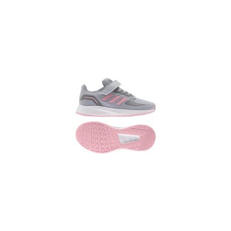 Adidas Runfalcon 2.0 Gyerek Cipő (Ezüst-Pink) FZ0111