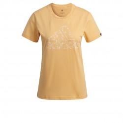 Adidas Outlined Virágos Graphic T-Shirt Női Póló (Sárga) GL1030