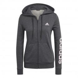 Adidas Essentials Full-Zip Női Pulóver (Szürke) GL0793