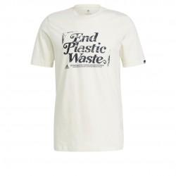 Adidas End Plastic Waste Férfi Póló (Fehér) GL3224