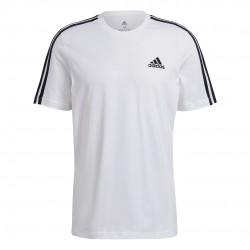 Adidas Essentials 3-Stripes Férfi Póló (Fehér) GL3733