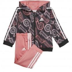 Adidas Shiny 49 Bébi Melegítő Együttes (Fekete-Pink) GM8955