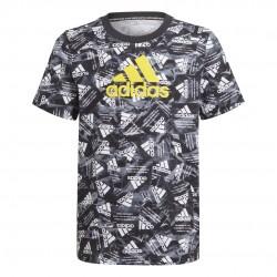 Adidas BOS Gyerek Póló (Fekete-Fehér) GJ6647