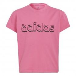 Adidas Graphic Gyerek Póló (Pink) GN1433