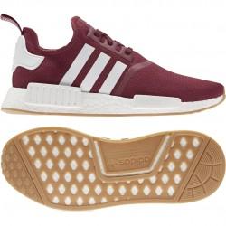 Adidas Originals NMD R1 Férfi Cipő (Piros-Fehér) FX6787