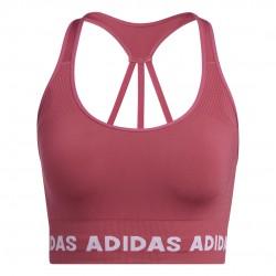 Adidas Training Aeroknit Bra Női Sportmelltartó (Wild Pink) GM5160