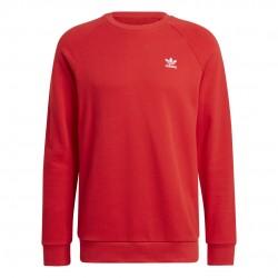 Adidas Originals Essentials Crew Férfi Pulóver (Piros) GN3412