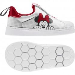 Adidas Originals Superstar 360 X Minnie Mouse Bébi Cipő (Fehér-Piros) FX4902