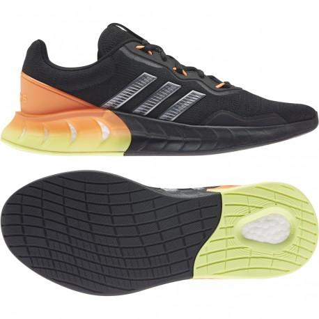 Adidas Kaptir Super Férfi Cipő (Fekete) FZ2857