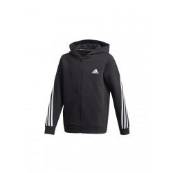 Adidas B 3S Zipzáras Gyerek Pulóver (Fekete-Fehér) GE0663