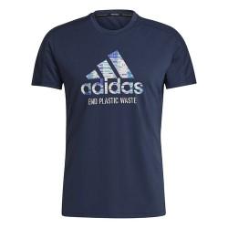 Adidas Run For Oceans Férfi Póló (Kék) GJ6457