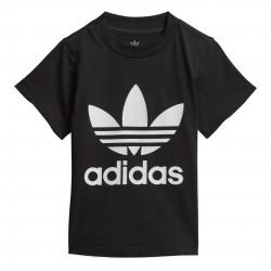Adidas Originals Trefoil Bébi Póló (Fekete-Fehér) DV2829