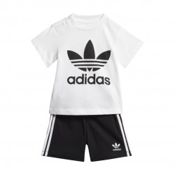 Adidas Originals Short Tee Bébi Együttes (Fekete-Fehér) FI8318